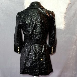 Juicy Couture Jackets & Coats - Juicy Couture Crinkle Patent Leather Jacket